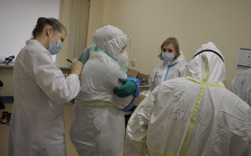 Каунасская больница показала, в каких условиях работают врачи