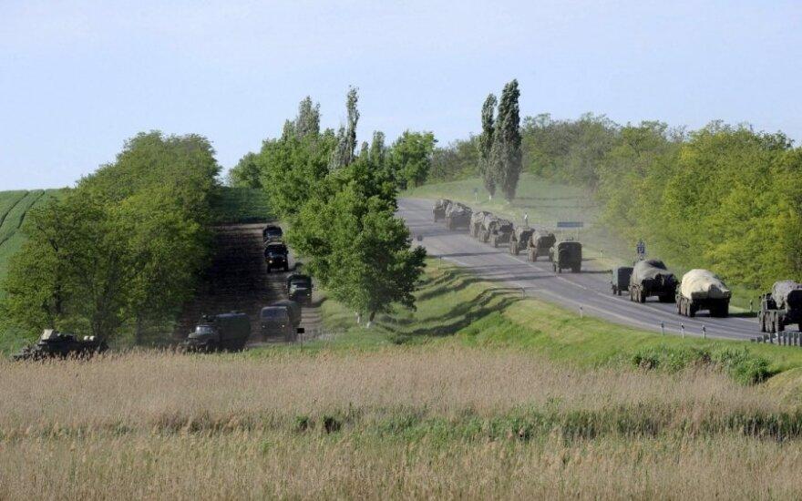 """В """"Правом секторе"""" сообщили о стягивании тяжелой техники в район Мукачево"""