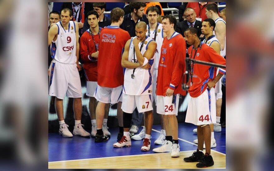Maskvos CSKA krepšininkai