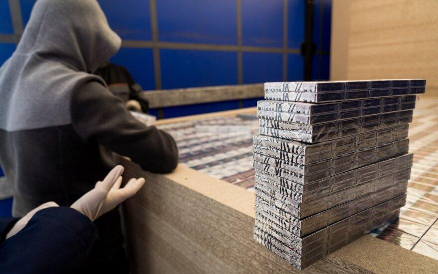 На границе с Беларусью задержана контрабанда сигарет на 2,34 млн евро