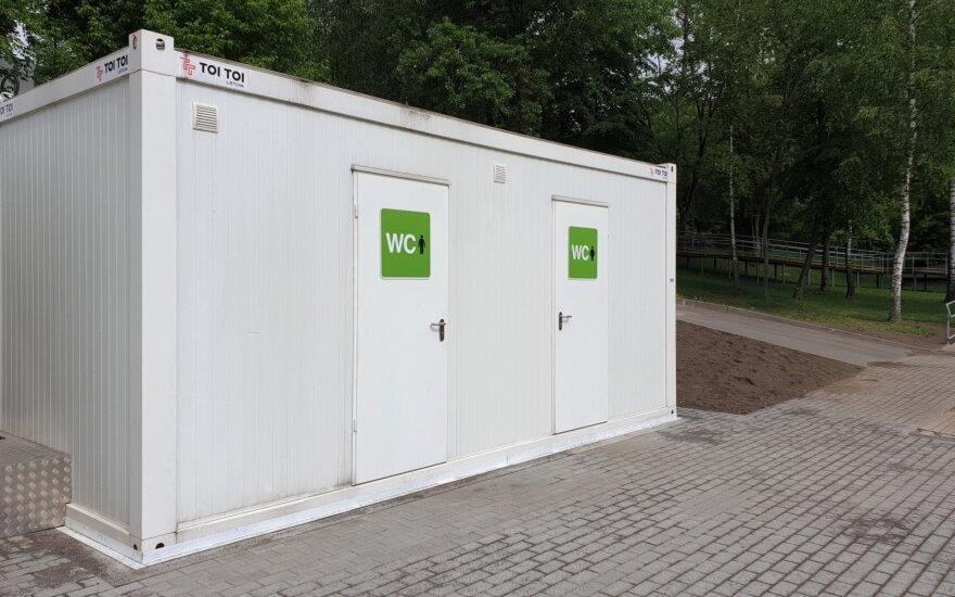 На двух вильнюсских пляжах обновили туалеты