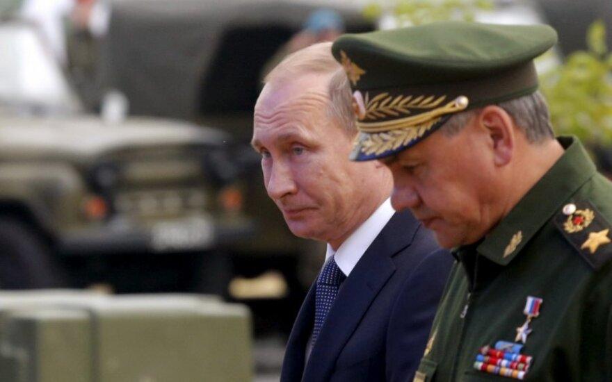Vladimir Putin, Sergey Shoygu