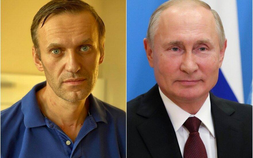Aleksejus Navalnas, Vladimiras Putinas