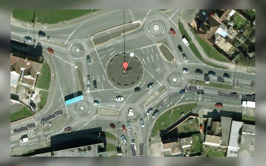 Magiczne rondo w Swidon