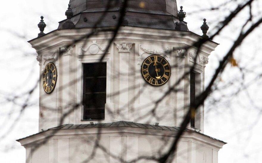 В ночь на воскресенье Литва переходит на зимнее время