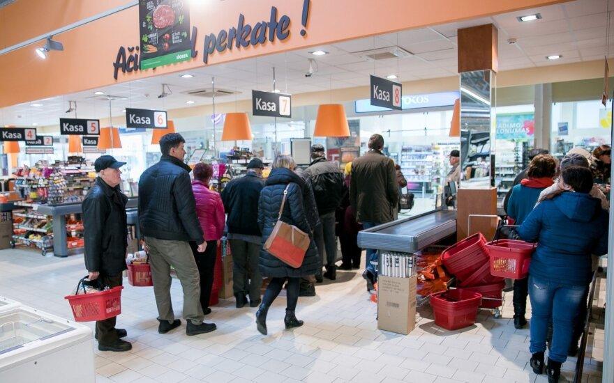 Как на Пасху будут работать литовские магазины