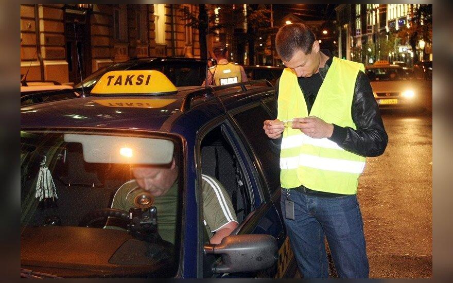 Taksi reidas Vilniuje