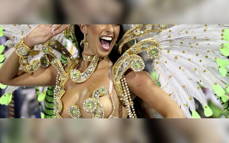 В Бразилии стартовал знаменитый карнавал