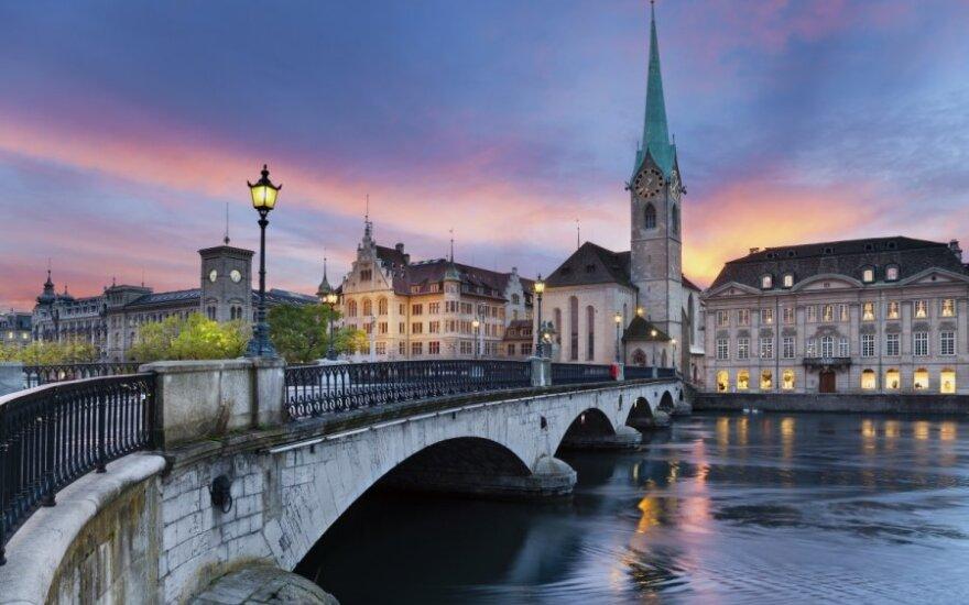 Ciurichas, Šveicarija
