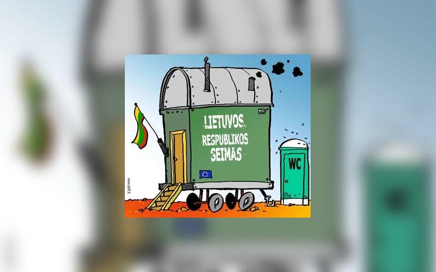 Жители Литвы меньше всего доверяют парламенту
