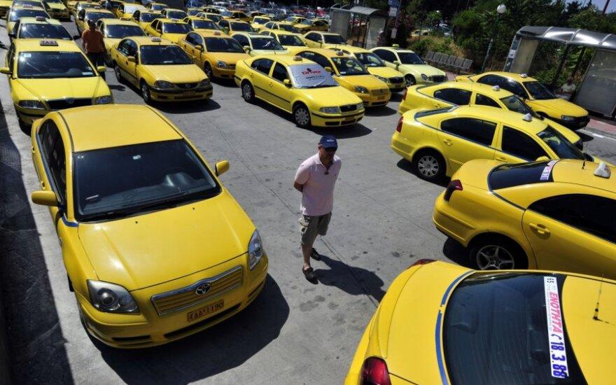 Taksi streikas Graikijoje