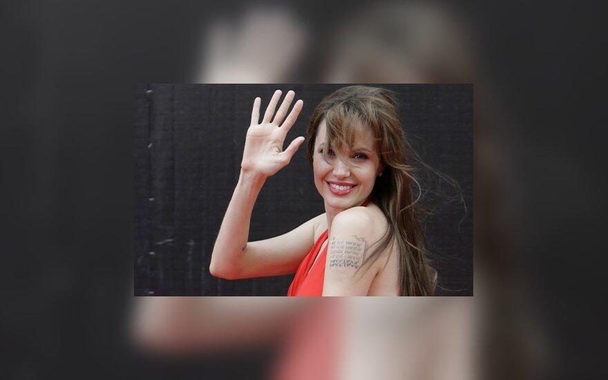 Джоли в Москве заговорила со своими фанами на русском