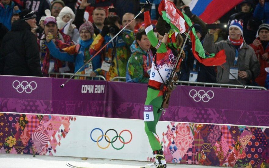 Белоруска Дарья Домрачева выиграла второе золото в Сочи