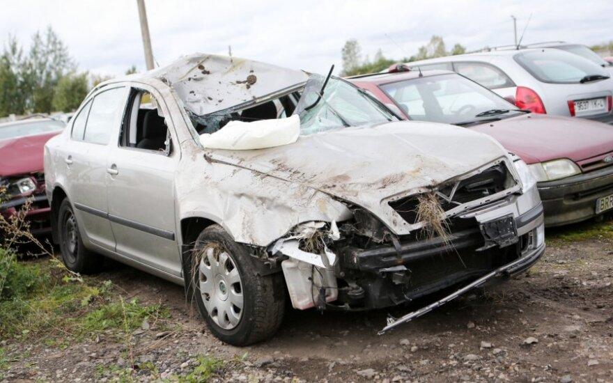 Член Сейма Андрюкайтис попал в аварию