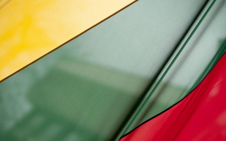 В старом городе Вильнюса украдено 15 литовских флагов