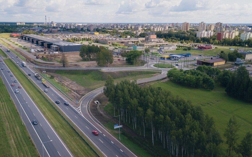 Kaune atsirado nauja jungtis su A1 magistrale