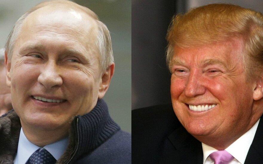 """СМИ: """"трампутинизм"""" - Трамп и Путин имеют общий взгляд на картину мира"""