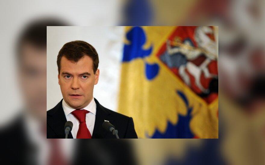 Медведев обещает россиянам украиноязычные ТВ-каналы