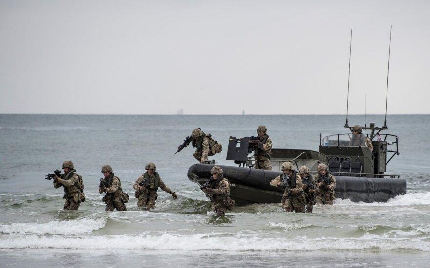 На военных учениях в Литве – наблюдатели из Беларуси