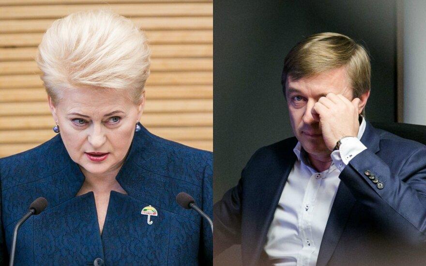 Президент Литвы: какое может быть доверие к такому Трудовому кодексу?