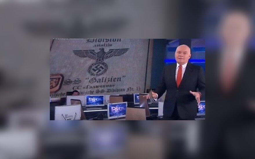 Дмитрий Киселев признал показанное им удостоверение СС поддельным