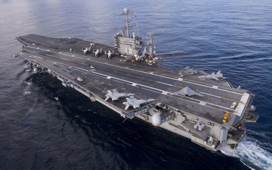 WSJ: США назвали переброску авианосца в Средиземное море сигналом Москве