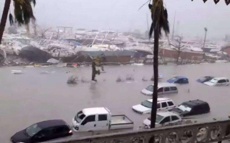 """Uraganas """"Irma"""""""