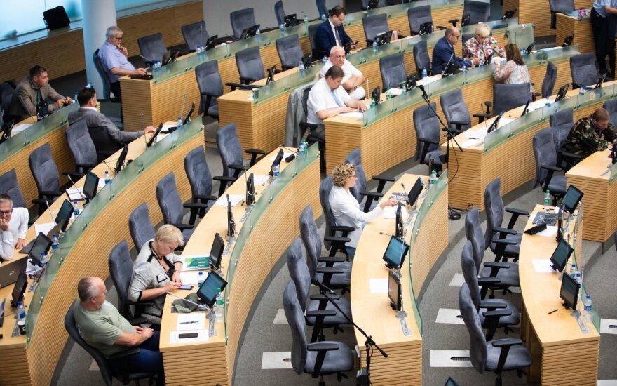 В Сейме Литвы присягнули четыре новых парламентария