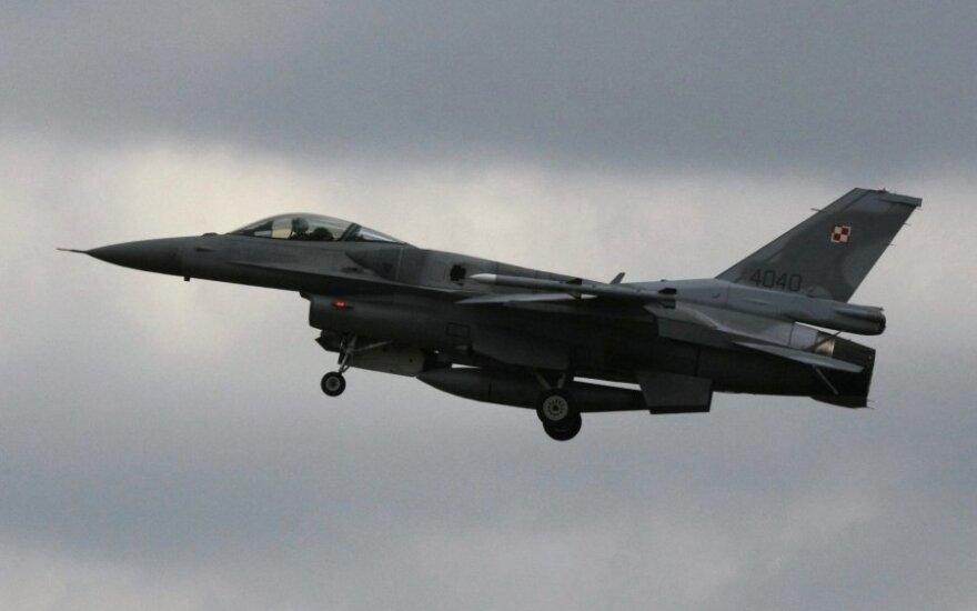 Миссия воздушной полиции НАТО в странах Балтии переходит к Польше