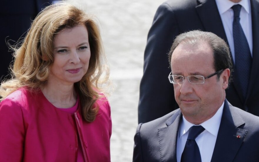 Valerie Trierweiler, Francois Hollande'as