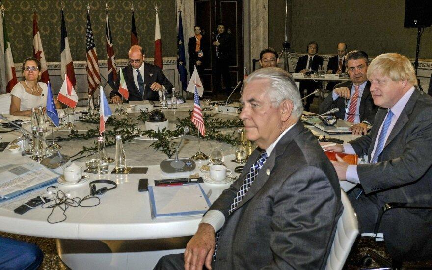 Главы МИД G7 не договорились о новых санкциях против России