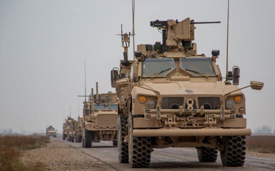 Белый дом: США начинают вывод войск из Сирии