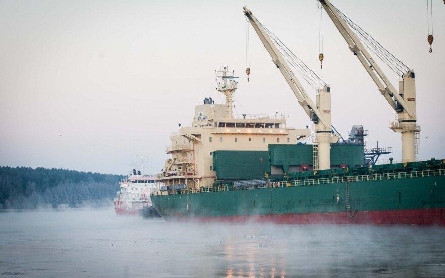 По погрузкам Клайпедский порт лидирует среди портов Балтии четвертый год подряд