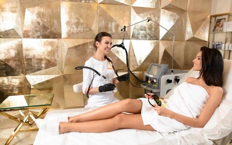 Удаление волос александритовым лазером: изменения будут заметны уже после первых процедур