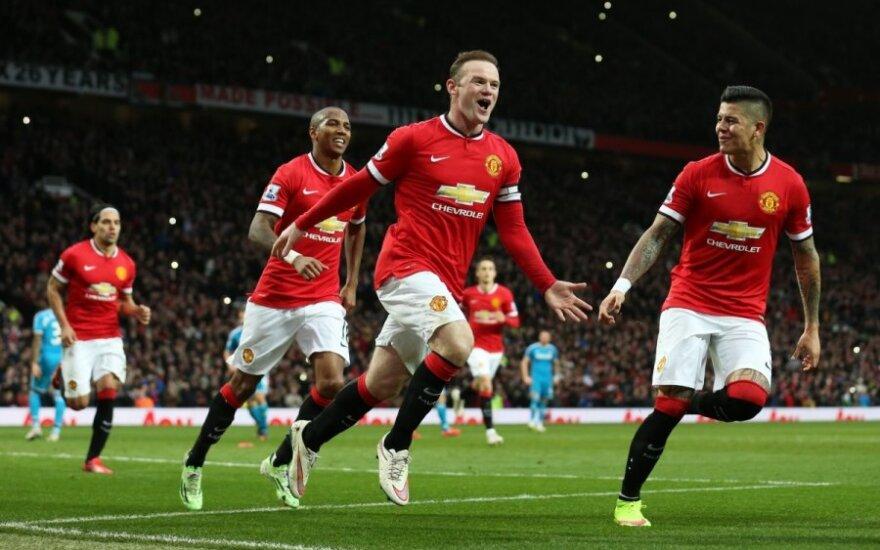 Wayne'o Rooney triumfas