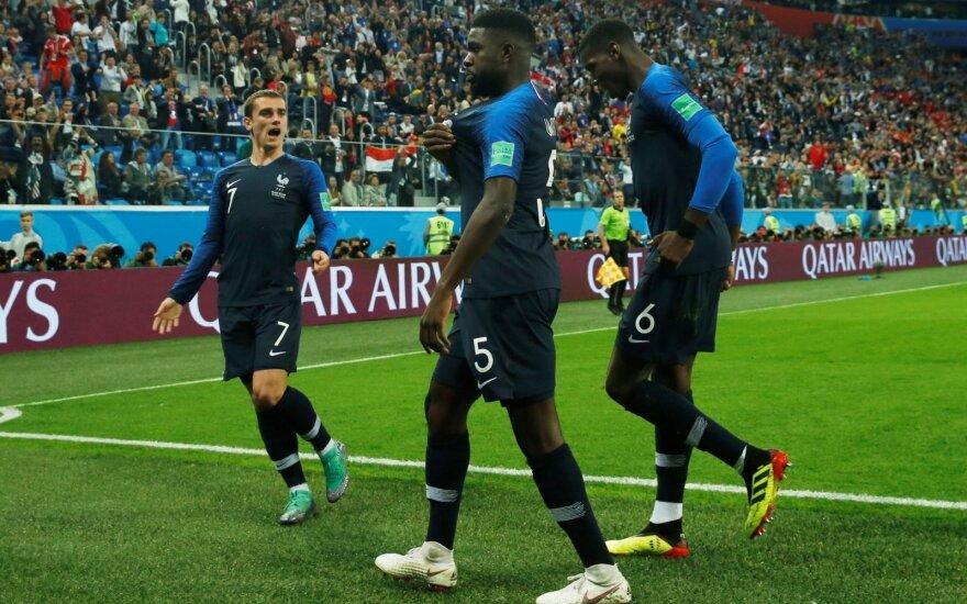 Сборная Франции стала первым финалистом чемпионата мира по футболу