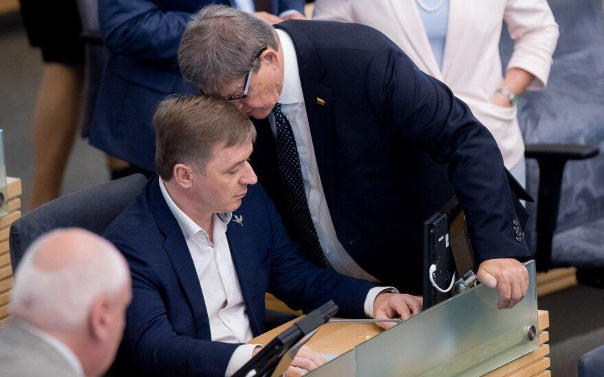 В Сейме Литвы продвигается возможность подачи индивидуальной конституционной жалобы