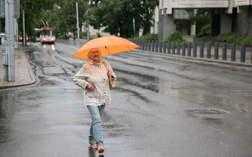 Погода: кратковременные дожди прогнозируют до конца недели