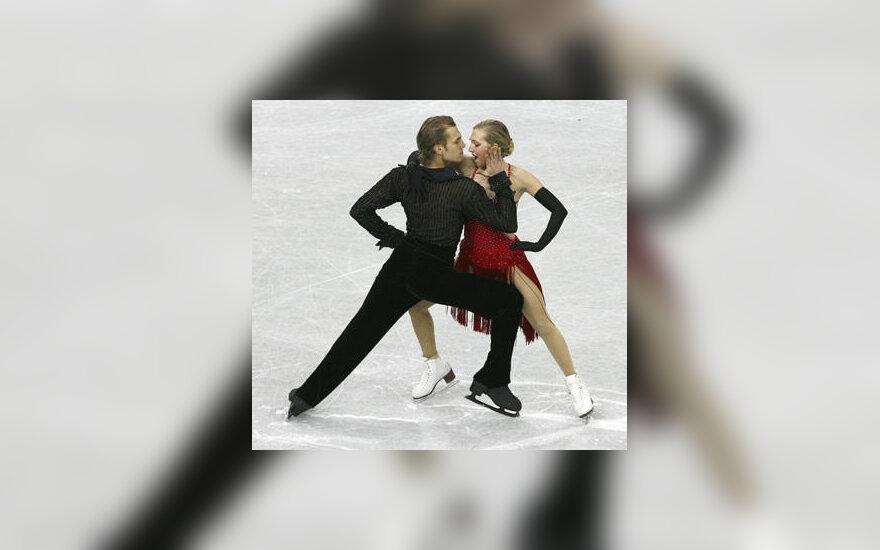 Deividas Stagniūnas ir Katherine Copely
