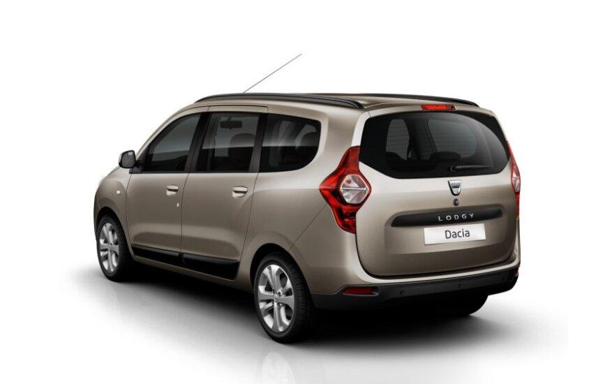 Dacia представила новый бюджетный семейный автомобиль Lodgy