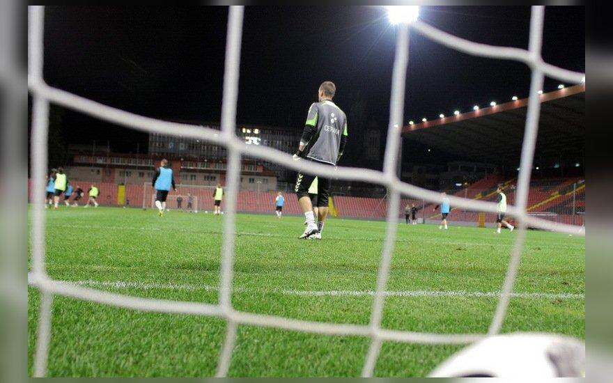 Kitos vasaros renginių akcentas - pirmą kartą Lietuvoje vyksiantis Europos devyniolikmečių futbolo čempionatas