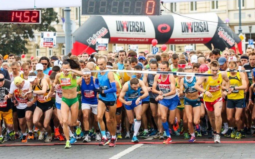 В Вильнюсе проходит 11-й марафон
