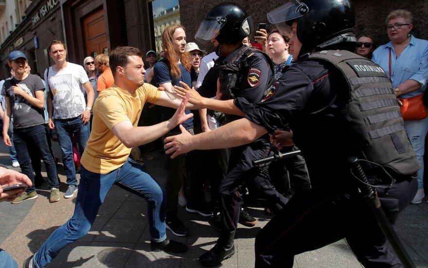 Акция оппозиции в Москве: задержаны более тысячи человек, включая лидеров