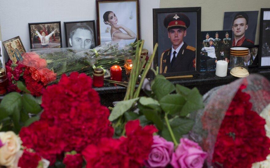 В Минобороны России назвали выдумкой версию крушения Ту-154 из-за ошибки пилота