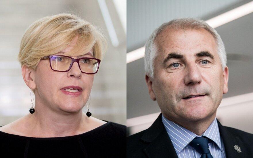 Выборы: поддержки консерваторов будут добиваться Шимоните и Ушацкас