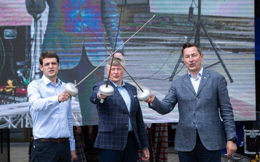 Зуокас, Жемайтайтис и Паулаускас объявили о создании новой партии