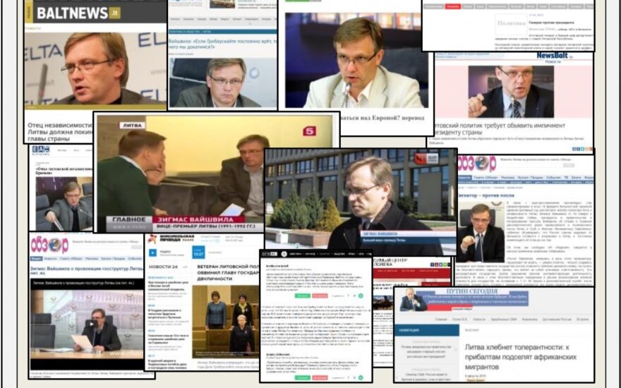 В отчете ДГБ – сеть интересов России и фамилии литовских политиков
