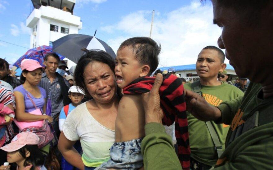 Filipinai po taifūno Haiyan