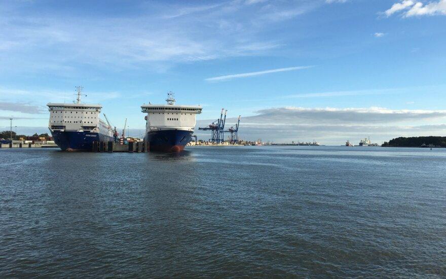 Судоходство в Клайпедском порту восстановят во вторник вечером
