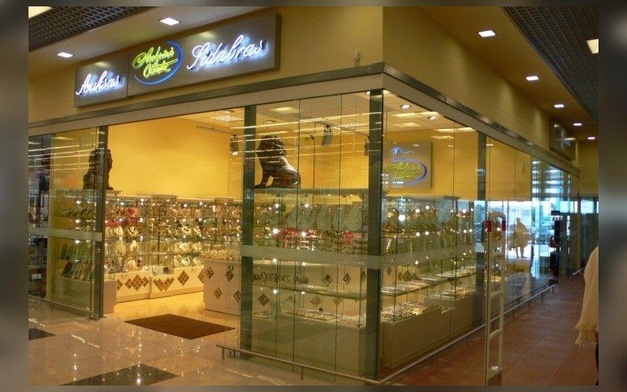 """Juvelyrikos parduotuvė """"Auksinė liūtė"""" PC BIG    auksine-liute.lt nuotr."""